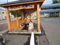 ほっと湯田駅前の足湯