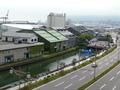 部屋からの小樽運河の眺め(昼)