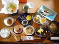 「お宿しらなみ」の朝食