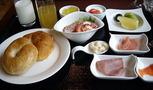 朝食の一例。