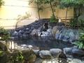 男性用露天岩風呂