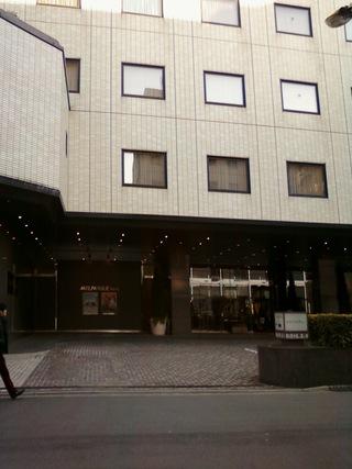 メルパルク東京の玄関