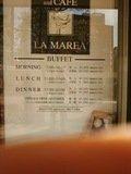 イタリアンブッフェ アンド カフェ ラ・マレーア の料金表