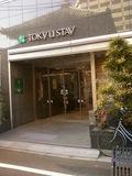 東急ステイ東銀座の玄関