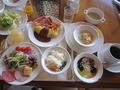 朝食おいしい~