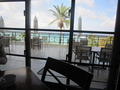 レストランの外の景色