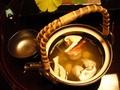 夕食4…煮物椀変わり 松茸土瓶蒸し