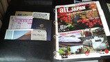 観光案内などのパンフレット