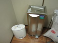 空気清浄機と冷水器