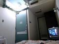ベッドから見たドア側