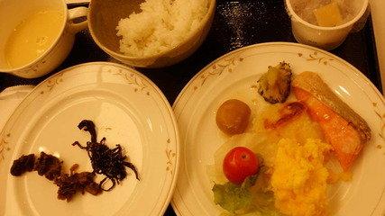 今日は和食で
