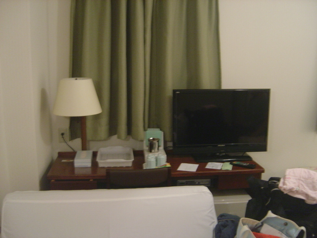 テレビの位置