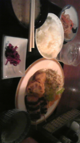写真クチコミ:無料サービスの夕ご飯です