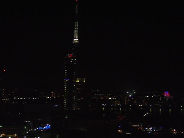 福岡タワーの眺望
