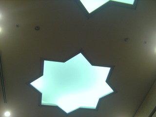 天井を見ると