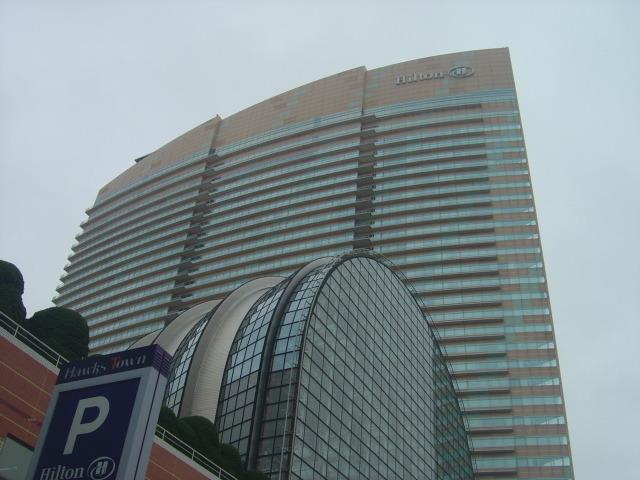立派なホテル
