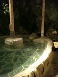 名物の露天風呂