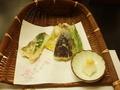 天ぷらも同じでしたが、以前と器が違いました!
