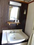 洗面台が室内に備えられています!