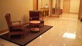 朝食会場入り口付近にある椅子