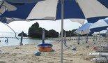 贅沢なプライベートビーチ
