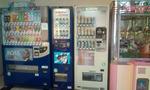 1階にある自販機とゲーム