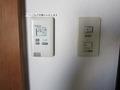 エアコンと電気のスイッチ