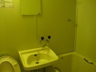 トイレと洗面台と風呂