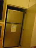 1階寝室冷蔵庫