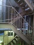 共同風呂への階段