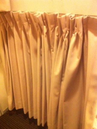 下段ベッドカーテン