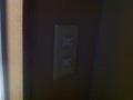 部屋の照明スイッチ