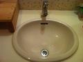 ロビーのトイレ洗面台