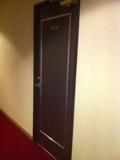 部屋のドア