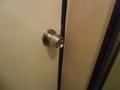 脱衣所の施錠