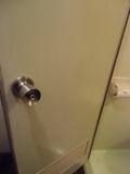 共同バスルームの施錠