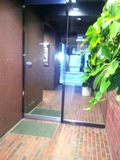 ホテル1階入口