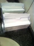 共同洗面台のペーパータオル