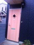 離れの入口ドア