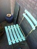 ベランダの椅子