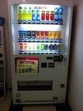 館内のドリンク自動販売機
