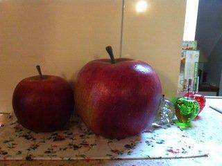 りんごの置物