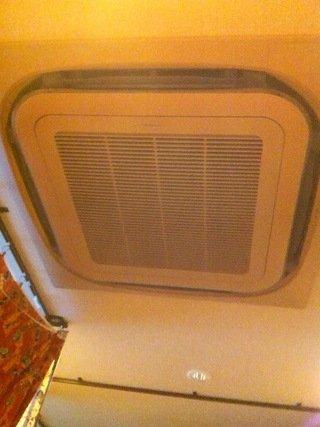 ドミトリールームの空調