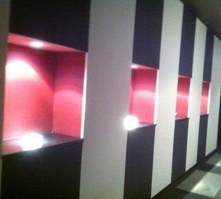 客室フロア廊下の照明器具