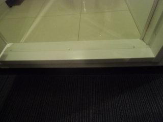 バスルームの入口段差