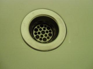 浴槽の排水口