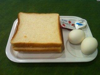 朝食のフード