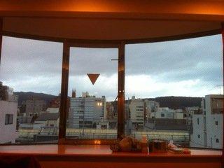 リビングルームの出窓