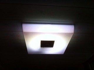脱衣所の照明