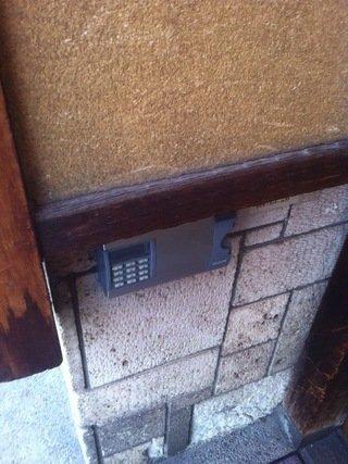 暗証番号操作機